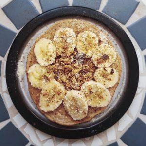 Protein Pancakes mit Insektenproteinpulver